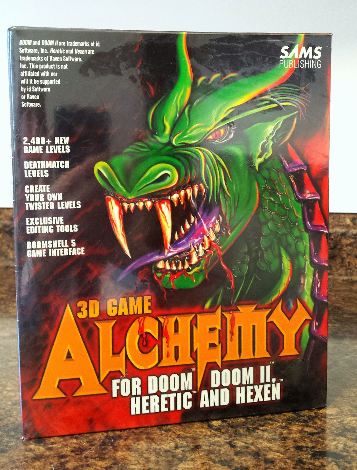 Aukro and eBay auction gallery - NEW SEALED 3D Game Alchemy
